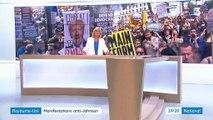 Royaume-Uni : des manifestations anti-Johnson à Londres
