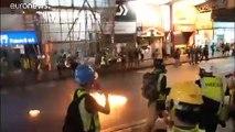 Nouvelles scènes de chaos à Hong Kong