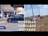 Les images de la fusillade à Odessa au Texas, un mois après celle d'El Paso