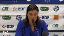 """Equipe de France (F) : """"Tout le monde a très bien répondu aux attentes"""" estime Diacre"""