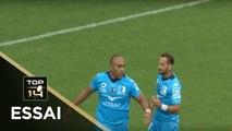 TOP 14 - Essai Caleb TIMU (MHR) - Montpellier - Pau - J2 - Saison 2019/2020