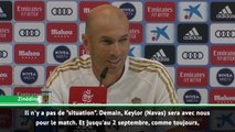 "Real - Zidane : ""Navas sera avec nous pour Villarreal"""