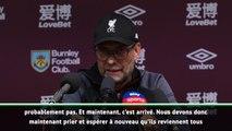 """Liverpool - Klopp : """"Maintenant, on va prier"""""""