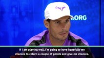 Nadal ready for challenge of big-serving Cilic
