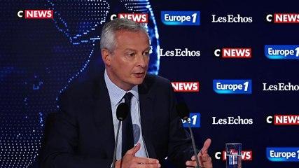 Bruno Le Maire - Europe 1 & CNews dimanche 1 septembre 2019