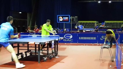 Ma Long forehand attack