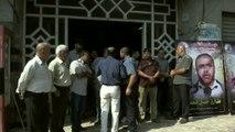 Açlık grevindeki Filistinli tutuklulara destek gösterisi