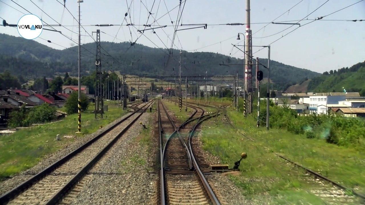 UNIKÁTNY VLAKOVÝ VIDEOPROJEKT: IC vlakom z Košíc do Žiliny