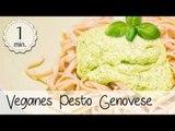 Avocado Basilikum Pesto Vegan - Pesto Genovese Vegan - Pesto ohne Öl Vegan & Lecker   Vegane Rezepte