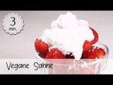 Vegane Sahne selber machen - Sahne Vegan aufschlagbar - Rezept für vegane Sahne! | Vegane Rezepte