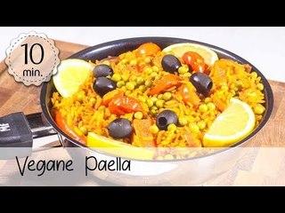 Vegane Paella - One Pot Paella Vegan Rezept - Paella zubereiten Einfach & Gesund!   Vegane Rezepte