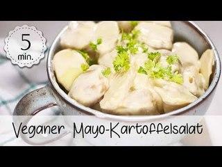 Veganer Kartoffelsalat mit Mayonnaise - Veganer Kartoffelsalat mit Cashewmus!   Vegane Rezepte