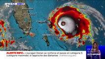 L'ouragan Dorian se renforce et passe en catégorie 5, le niveau maximal, avant d'atteindre les Bahamas
