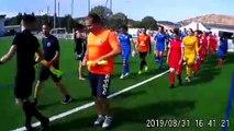 Entrée des joueuse GF38 et OL Valence avec les U11 du FCEE