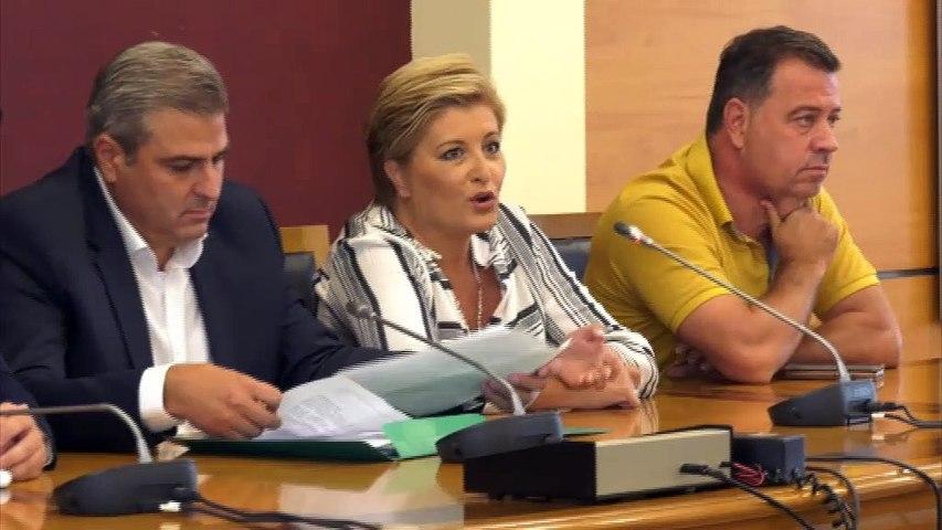 1η Συνεδρίαση Περιφερειακού Συμβουλίου Στερεάς - Πρόεδρος ο Η. Σανίδας