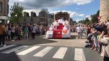 Comice agricole : le défilé de chars à Domfront en images