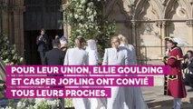 PHOTOS. Mariage d'Ellie Goulding : on vous dit tout sur sa robe de mariée signée de la maison Chloé