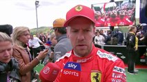 F1 2019 Belgian GP - Vettel Post-Race Interview