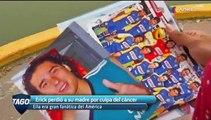 Erick perdió a su madre y ella era fanática del América y de Memo Ochoa.   Azteca Deportes