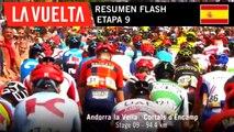 Resumen Flash - Etapa 9 | La Vuelta 19