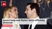 Anna Camp and Skylar Astin Are Done
