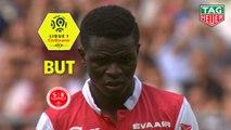 But Moussa DOUMBIA (73ème pen) / Stade de Reims - LOSC - (2-0) - (REIMS-LOSC) / 2019-20