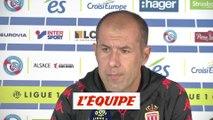 Jardim, après le nul à Strasbourg «Le résultat est dur» - Foot - L1 - Monaco