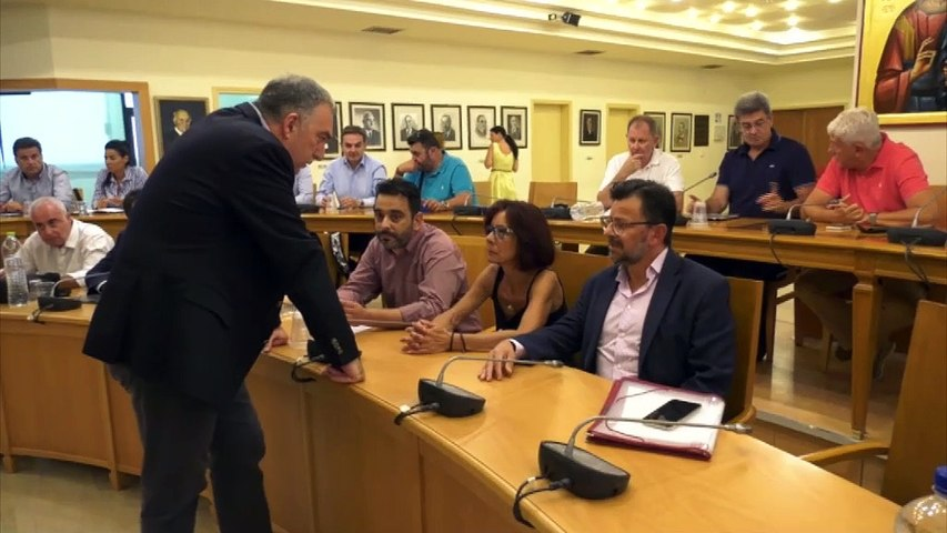 O Γ. Κυροδήμος νέος πρόεδρος του Δημοτικού Συμβουλίου Λαμίας