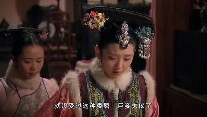 祺贵人向皇上告华妃的状,哭的梨花带雨,果真是墙倒众人推啊