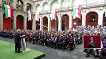 AMLO reconoce violencia en México y reitera mensaje anticorrupción en informe