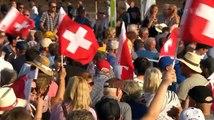LIVE Volksmusikern in Zug 24/8/19 folk musicians in Zug - Musiciens folkloriques à Zug