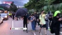 [ Hong Kong tối 01 09 2019 - Chiến dịch Dunkrik phiên bản Hong Kong ] Những người biểu tình áo đen đã đi bộ hơn 3 tiếng đồng hồ từ sân bay trên quảng đường phải đi bộ ~21km thì dân mạng Hong Kong phát