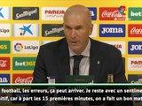 "FOOTBALL: La Liga: 3e j. - Zidane : ""Il faut mettre plus de buts"""