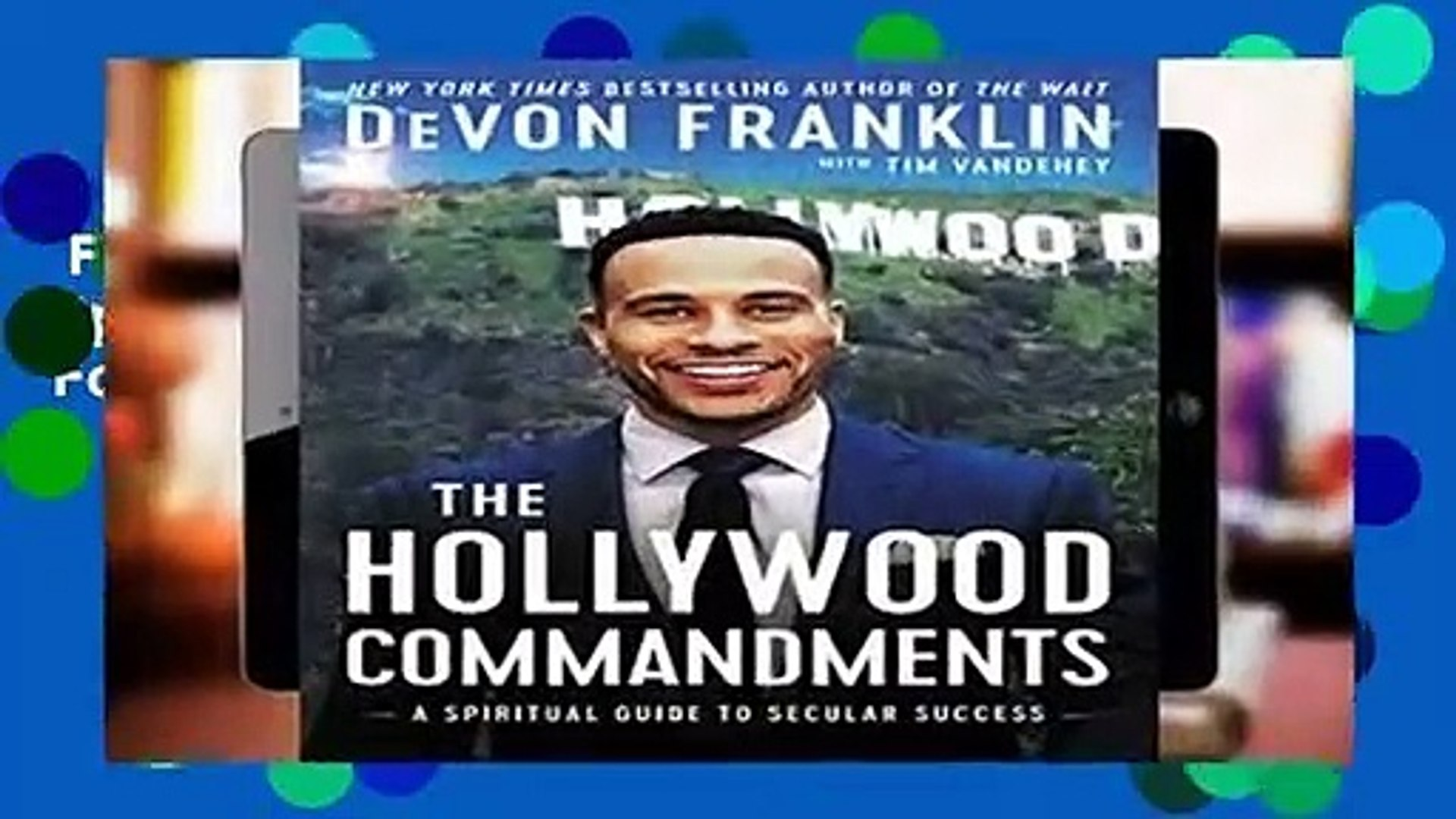 Full E-book  The Hollywood Commandments: A Spiritual Guide to Secular Success  For Kindle