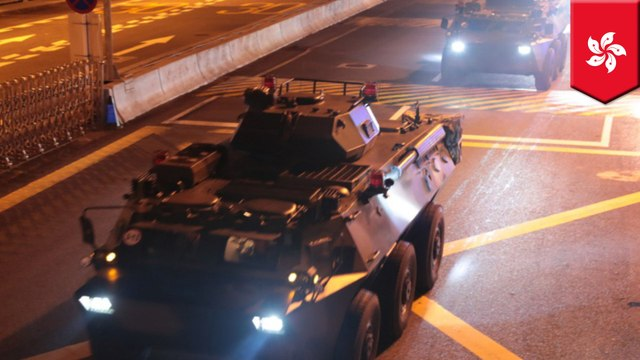 China deploys troops into Hong Kong in 'routine rotation'