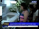 Emotional tribute for CDO blast victim