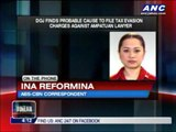 DOJ recommends indictment of Ampatuan lawyer