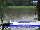 1,000 families affected by floods in W. Visayas