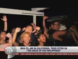 Pinoys in California hold viewing party for 'Voice PH'