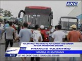 Passengers stranded as bus drivers protest bus hub
