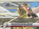 QC residents sift through flood for sellable junk