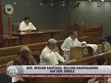 Miriam roasts Enrile, solons in 'pork scam'