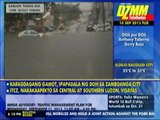 Floods cause traffic jams in Quezon City