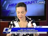 Grace Poe backs negotiations with MNLF