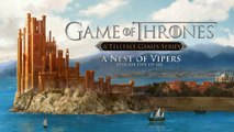 Game of Thrones: A Telltale Games Series Episode  5 'A Nest of Vipers' - Trailer officiel