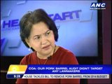 COA: Audit didn't target lawmakers