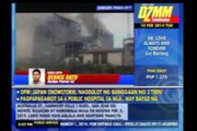 Fire razes 17 houses in Pasig, affects classes