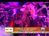 Pinoys enjoy Avril's duet with hubby Chad