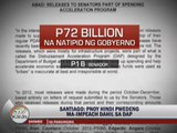 Miriam: Impeachment case vs PNoy won't prosper