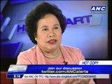 Miriam: Impeaching PNoy won't work, Abad should quit